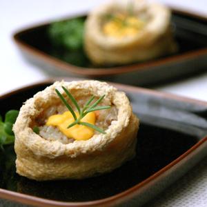 유부치즈밥
